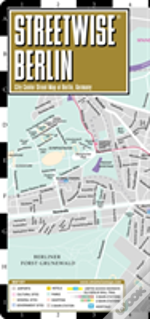 Streetwise Berlin Map - Laminated City Center Street Map Of Berlin, Germany