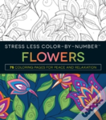 Stress Less Color-By-Numbers(Tm) Flowers