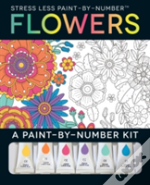 Stress Less Paint-By-Number(Tm) Flowers