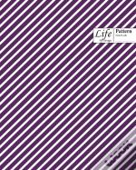 Striped Pattern Composition Notebook