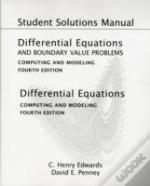 Student Solutions Manual For Differential Equations And Boundary Value Problems