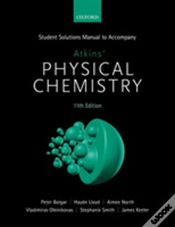 Wook.pt - Student Solutions Manual To Accompany Atkins' Physical Chemistry 11th  Edition