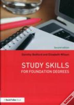 Wook.pt - Study Skills For Foundation Degrees