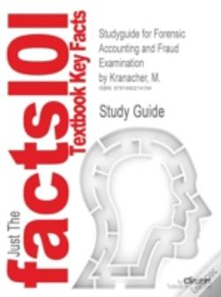 Wook.pt - Studyguide For Forensic Accounting And Fraud Examination By Kranacher, M.