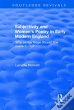 Subjectivity And Women S Poetry In