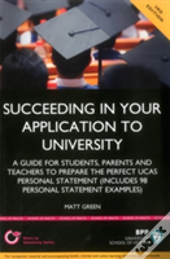 Succeeding In Your Application To Univer