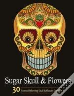 Sugar Skull And Flower