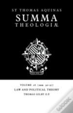 Summa Theologiaelaw And Political Theory