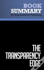 Summary : The Transparency Edge - Barbara Pagano And Elizabeth Pagano