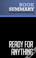 Summary : Ready For Anything - David Allen