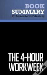 Summary: The 4hour Workweek  Timothy Ferriss