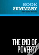 Summary: The End Of Poverty