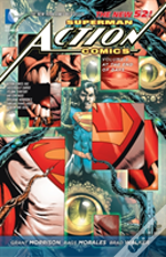 Superman  Action Comics Volume 3: At The End Of Days Tp (The New 52)