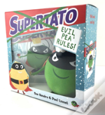 Supertato: Evil Pea Rules Book And Plush