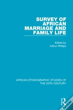 Wook.pt - Survey Of African Marriage And Family Life