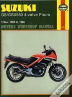 Suzuki Gs/Gsx550 4-Valve Fours 572cc 1983-88 Owner'S Workshop Manual