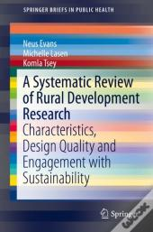 Systematic Review Of Rural Development Research