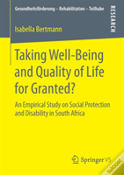 Wook.pt - Taking Well-Being And Quality Of Life For Granted?