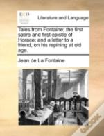 Tales From Fontaine; The First Satire An