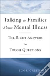 Talking To Families About Mental Illness
