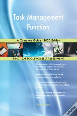 Wook.pt - Task Management Function A Complete Guide - 2020 Edition