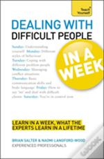 Teach Yourself Dealing With Difficult People In A Week