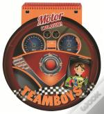 Teamboys Colorir com Argolas - Motor
