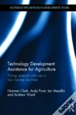 Technology Development Assistance For Low Income Country Agriculture