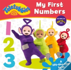 Wook.pt - Teletubbies: My First Numbers Lift-The-Flap
