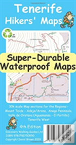 Tenerife Hikers' Super-Durable Maps