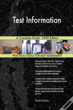 Wook.pt - Test Information A Complete Guide - 2020