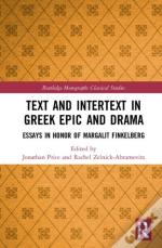 Text And Intertext In Greek Epic An