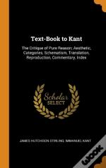 Text-Book To Kant