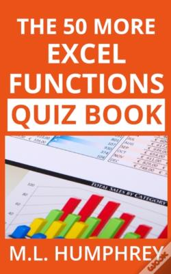 Wook.pt - The 50 More Excel Functions Quiz Book