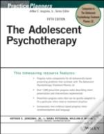 The Adolescent Psychotherapy Progress Notes Planner