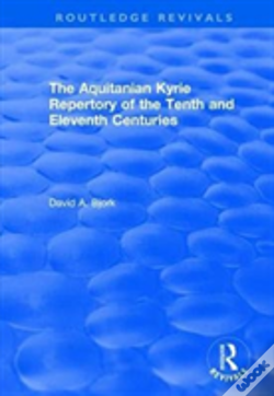 Wook.pt - The Aquitanian Kyrie Repertory Of T