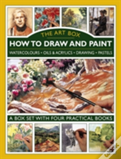 Wook.pt - The Art Box - How To Draw And Paint