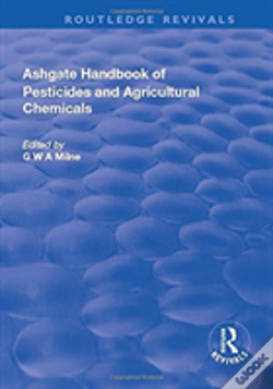 Wook.pt - The Ashgate Handbook Of Pesticides