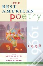 The Best American Poetry 1996