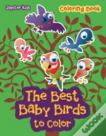 The Best Baby Birds To Color Coloring Book