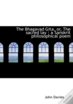 Wook.pt - The Bhagavad Gita, Or, The Sacred Lay :