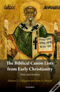 Wook.pt - The Biblical Canon Lists From Early Christianity