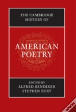 Wook.pt - The Cambridge History Of American Poetry