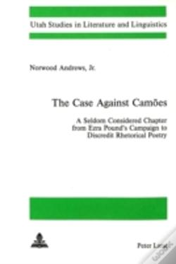 Wook.pt - The Case Against Camoes