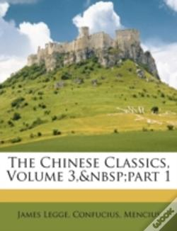 Wook.pt - The Chinese Classics, Volume 3,&Nbsp;Par