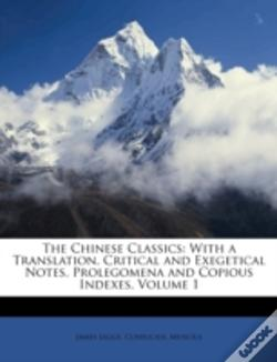 Wook.pt - The Chinese Classics: With A Translation