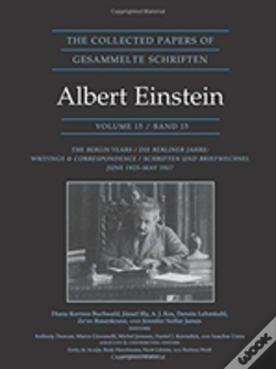 Wook.pt - The Collected Papers Of Albert Einstein, Volume 15 (Documentary Edition)