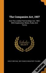 The Companies Act, 1907