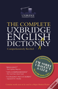 Wook.pt - The Complete Uxbridge English Dictionary
