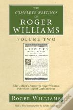 The Complete Writings Of Roger Williams, Volume 2